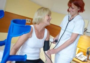 Erfahrenes und qualifiziertes Pflegepersonal