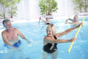 Bewegungsbäder im Rahmen der Rehabilitation für Rücken und Wirbelsäule