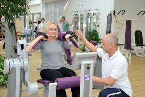 Krafttraining im Rahmen der medizinischen Trainingstherapie (MTT)
