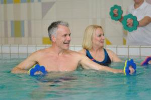 Muskelkräftigung im Rahmen der Rehabilitation nach einer Schulter OP